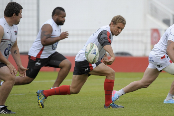 Still got it: Wilkinson prepares for the final with some tidy flicks