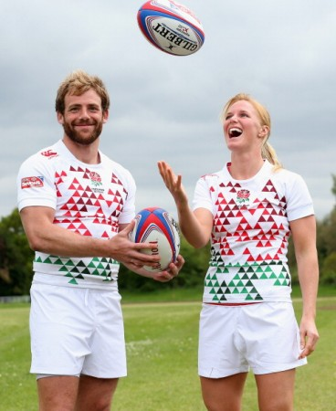 Rob Vickerman and Michaela Staniford
