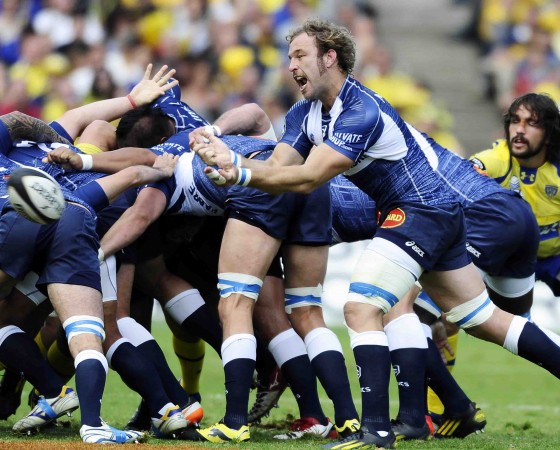 Slaying David: Castres destroyed Clermont in a 25-9 victory