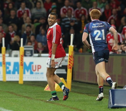 Stage presence: Simon Zebo offers an extra spark