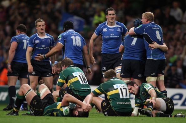 They've met before...: Leinster and Northampton Saints