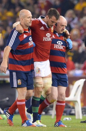 Forced to miss out: Sam Warburton