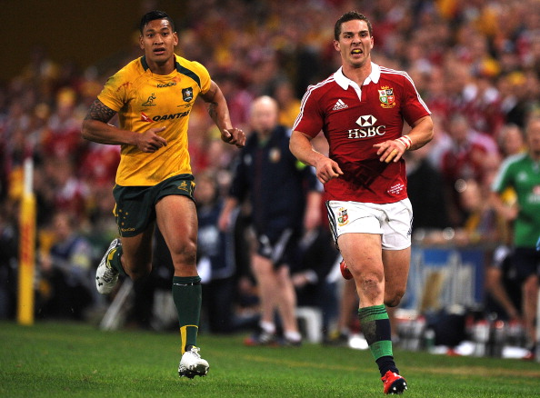Well-matched: Folau and North have been sensational