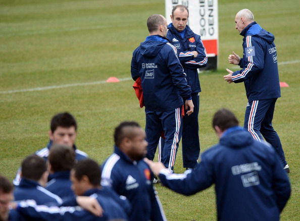 Home-grown and hurting: The all-French coaching team has suffered