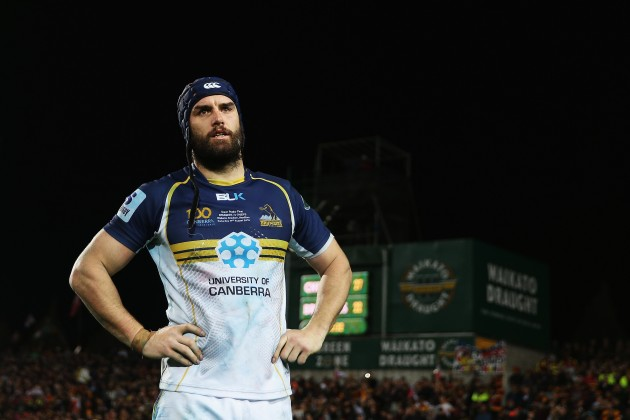 Bring on the Brumbies: Scott Fardy is one of many debutants