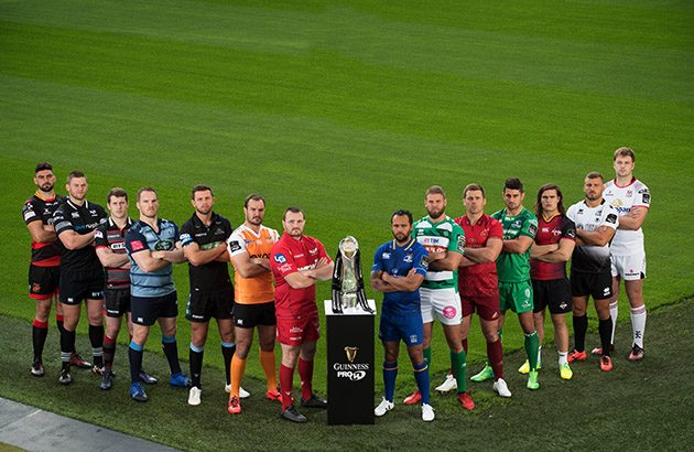 All the Guinness Pro14 fixtures for the 2018-19 season