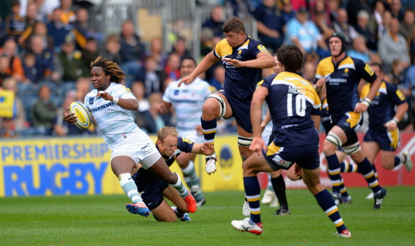 Catch me if you can: London Irish's Marland Yarde