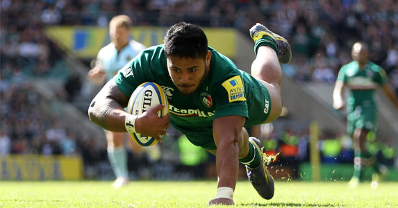 Predict this!: Manu Tuilagi scored some points of his own as scored in the Aviva Premiership final