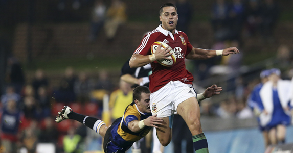 That's not a Scot! Maitland flew from NZ straight into the Scotland - and Lions - teams