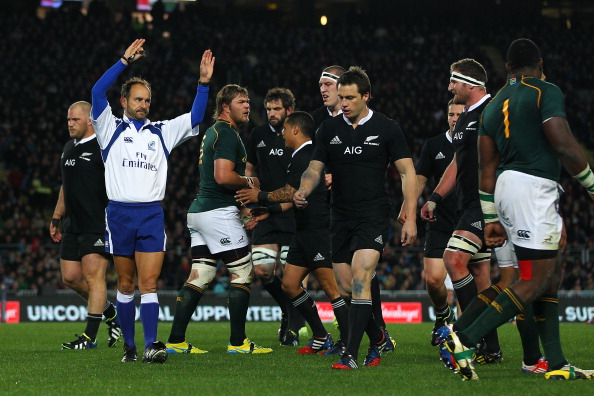 Hands up who has come in for criticism recently: Romain Poite