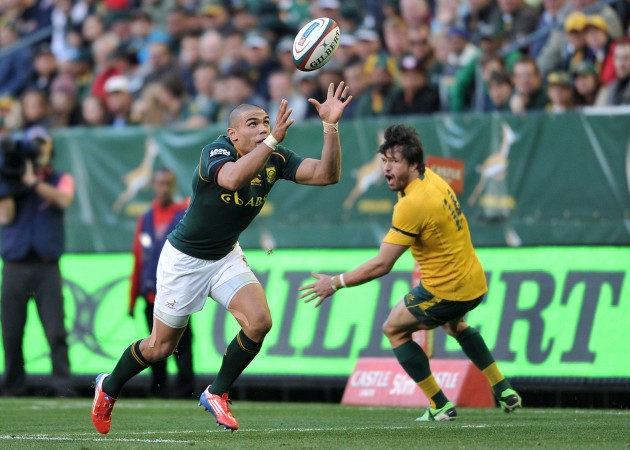 Best in the world?: Bryan Habana during the Rugby Championship