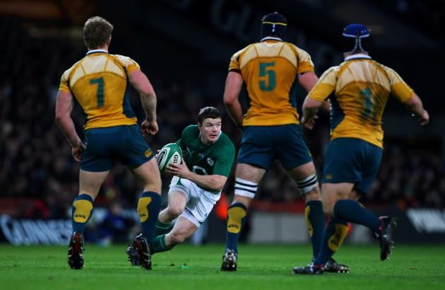 Moment of magic: O'Driscoll in 2009