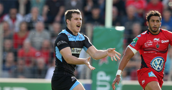 Breakthrough: Mark Bennett has played well enough for Glasgow Warriors to earn Scotland selection