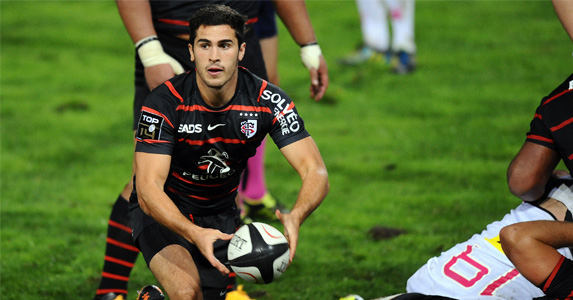 Bezy foot forward: Toulouse and scrum-half Sebastien Bezy are expected to wallop poor Zebre in the first round of the Heineken Cup