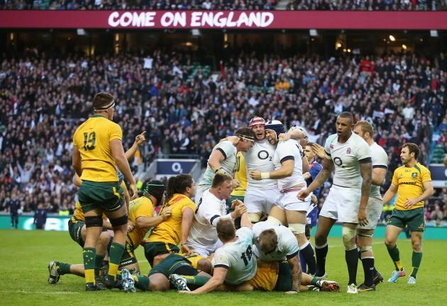Battling through a year on: England