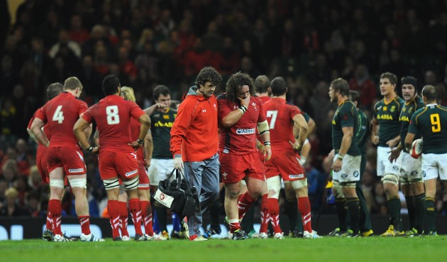 Technical issues: without Adam Jones, who is Wales' steadiest?