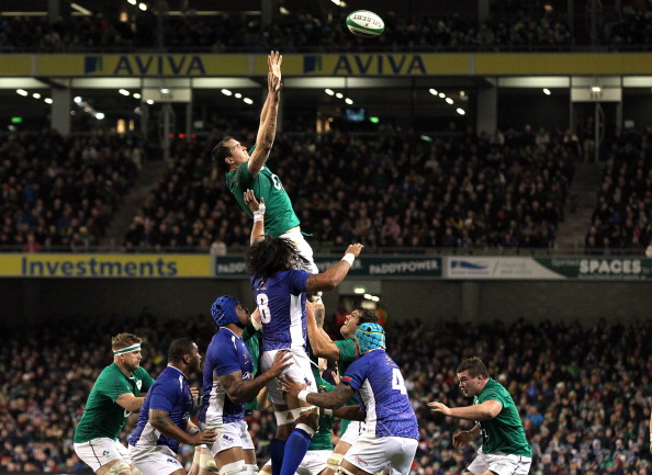 Steady set-piece: Rory Best threw well