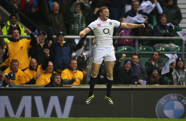 Lifting his level: Chris Ashton has improved but still has some way to go