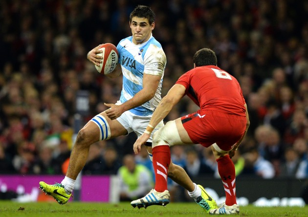 Smacked: Wales only missed three tackles in the second half
