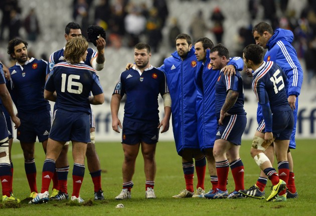 Searching for answers: France after the loss to the Springboks