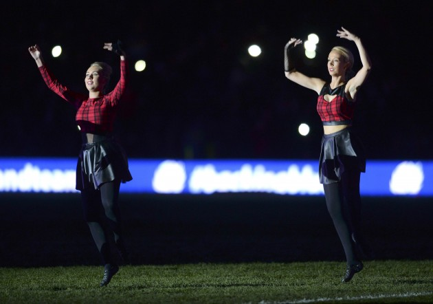 Atmosphere: Murrayfield had some!