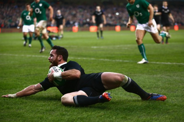 82nd minute joy: All Blacks
