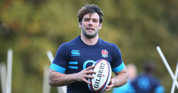 Winging in: Ben Foden comes in on the wing after Marland Yarde failed a fitness test