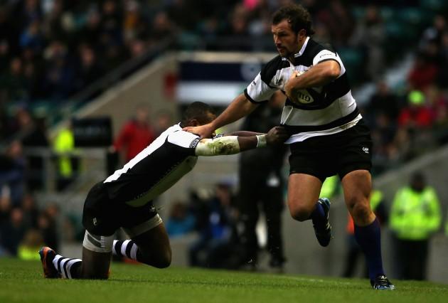 Man of the Match: Bismarck du Plessis