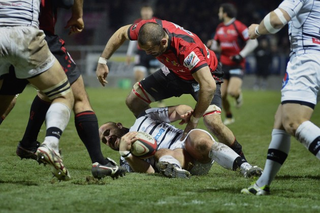 Away day blues: Brive lost to Oyonnax