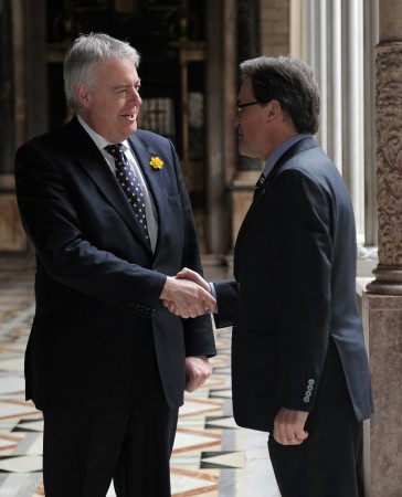 Politicians needed?: First Minister Carwyn Jones