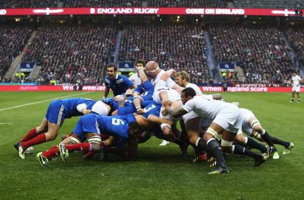 Image result for France vs England Rugby pic