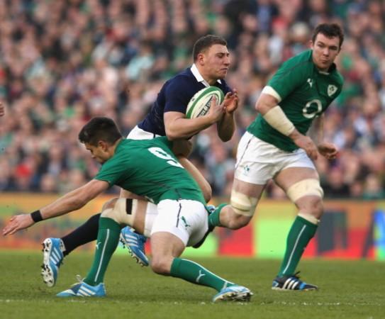 Work in progress: Weir showed promise in Dublin