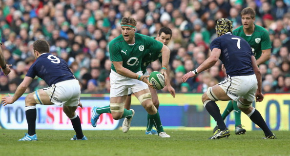 Stepping in: Heaslip was comfortable in the captain's role