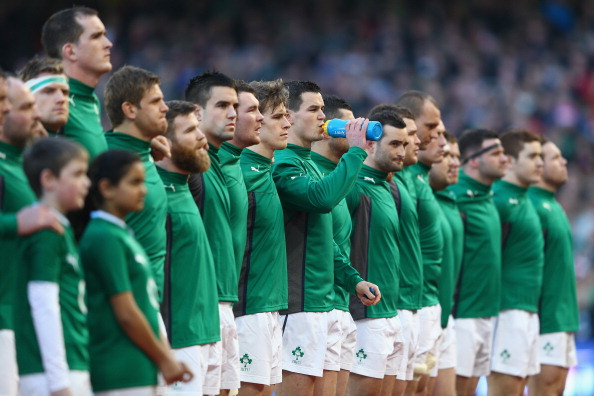 One team: Ireland have left their provincial rivalry at home