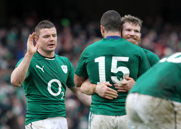 Old-stagers: BOD and D'Arcy have 208 caps between them
