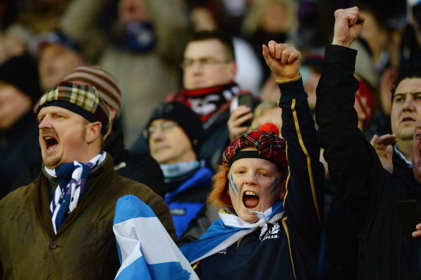 Passion: Scotland still cares about rugby