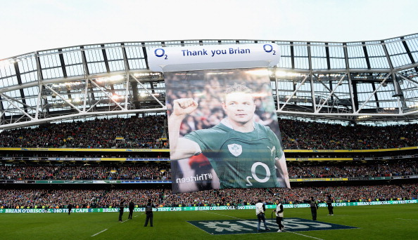 Fond farewell: O'Driscoll will be missed