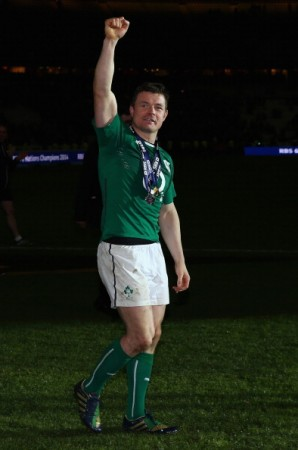 Last laugh: But who will replace O'Driscoll?