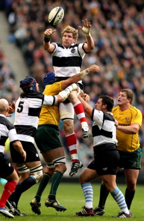 High-jinks: The game should be a feast of tries