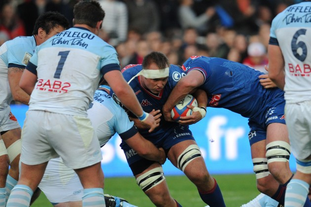 Stalemate: Grenoble threw away a 13-point lead to draw 21-all with Bayonne