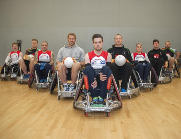 Harlequins and GB Wheelchair Rugby 290414