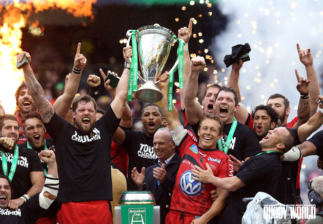 Winning away from the drama: Toulon won last year's Heineken Cup. Next year it will be the ERCC