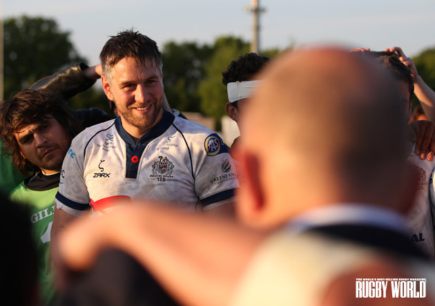 Official Briz biz: Ryan Jones put in a real leader's performance, helping Bristol into the final