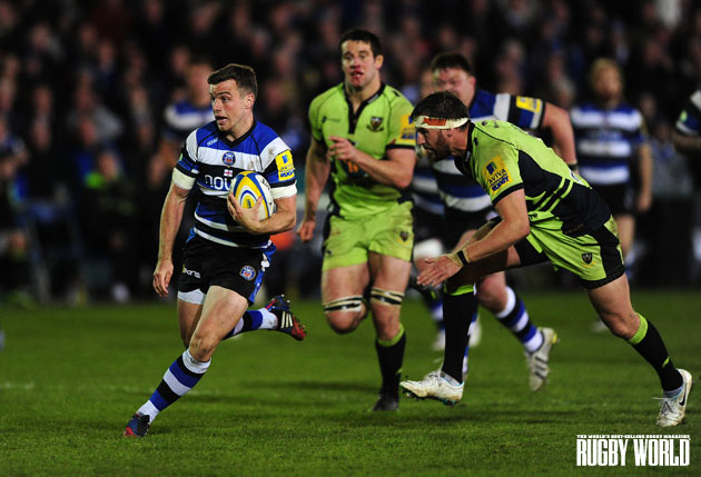 Running the risk: Players like Bath's George Ford and Northampton's Tom Wood may risk it for silverware