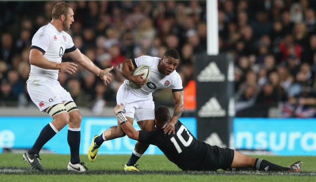 Right back in the mix: Kyle Eastmond is brought back in at inside centre for the third Test