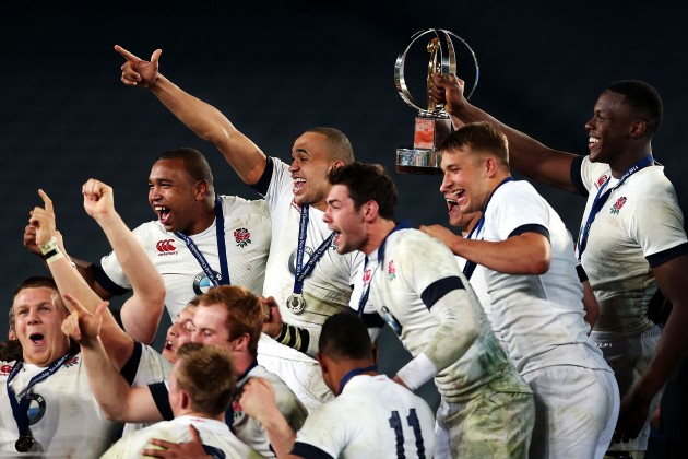 They're at it again: England have won the Junior World Championship for the second year in a row