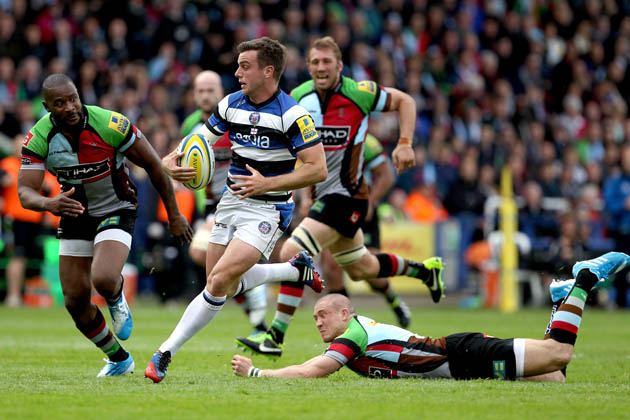 Hot-stepper: George Ford had a breakthrough season with Bath that led to England recognition