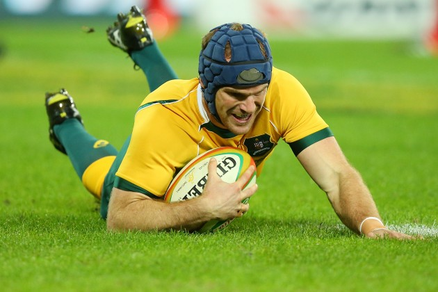 Calling it quits: Wallaby Pat McCabe has called time on his career after a third fractured neck