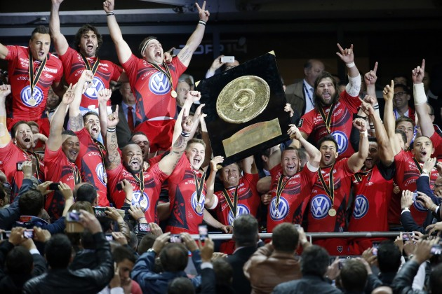 Come and get it: Toulon are the reigning Top 14 champs and are favourites again