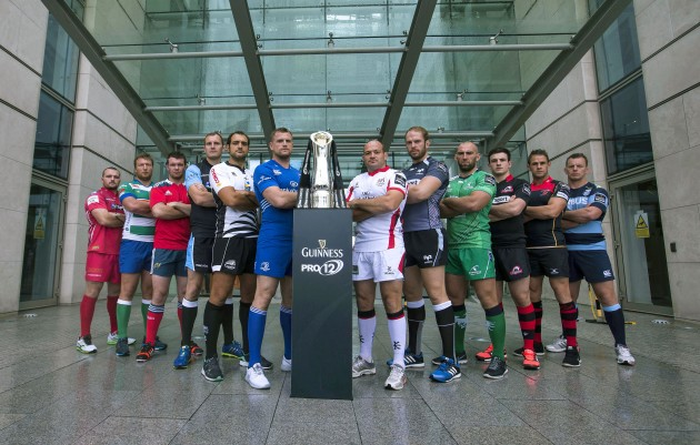 Glad to be back: the Guinness Pro12 sides are ready for a tough season (courtesy of INPHO)